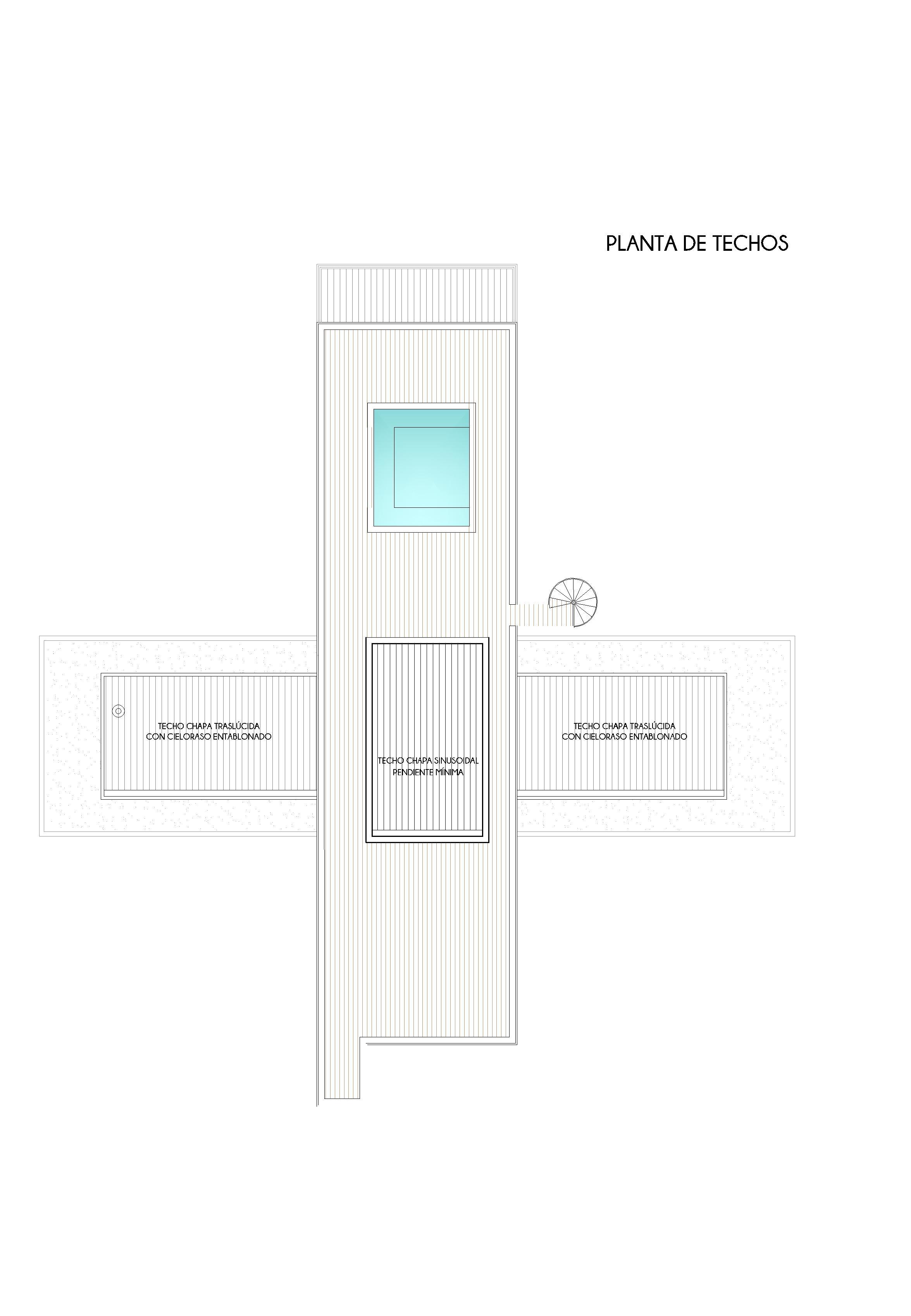 PLANTA DE TECHOS