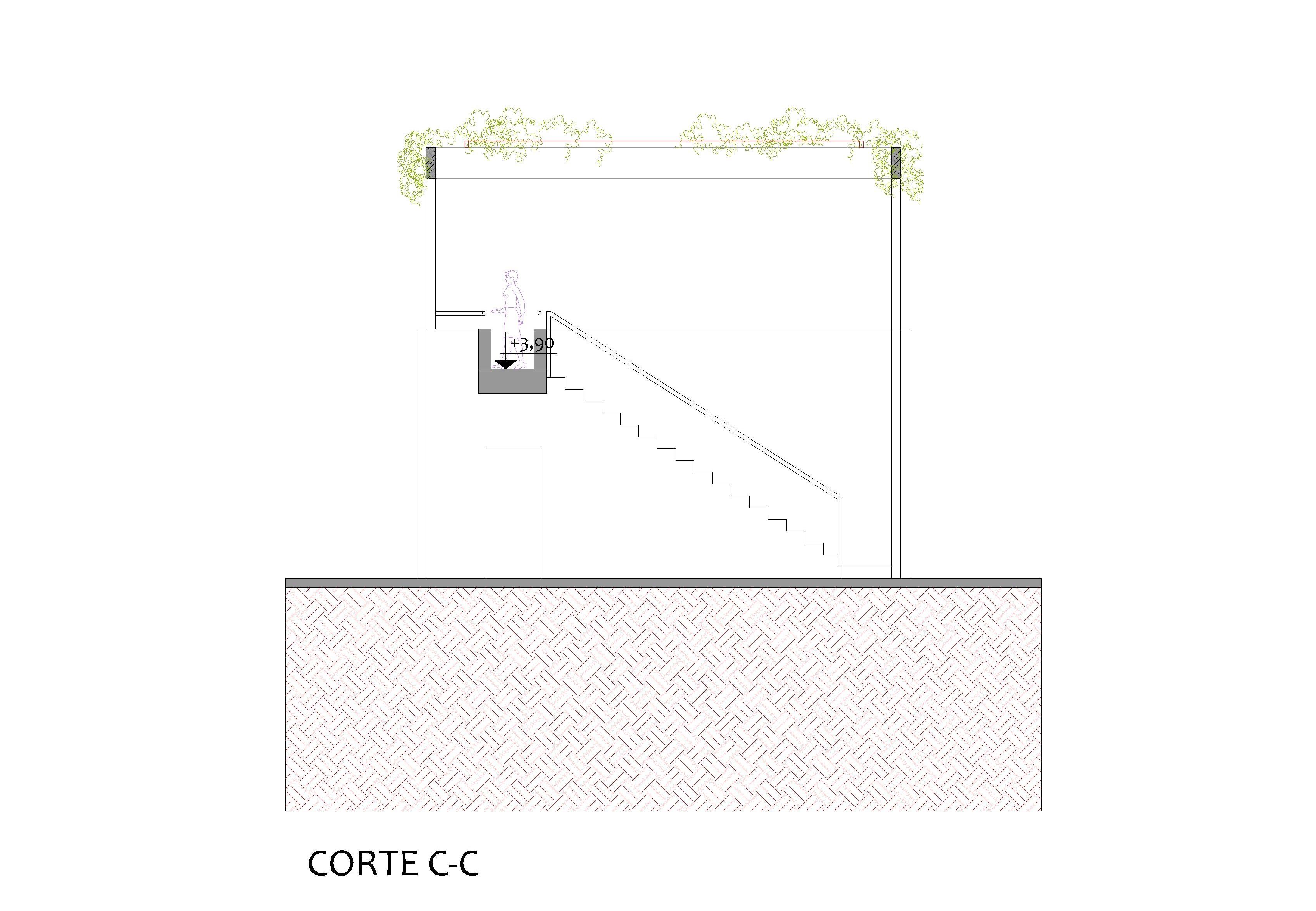 CORTE C-C
