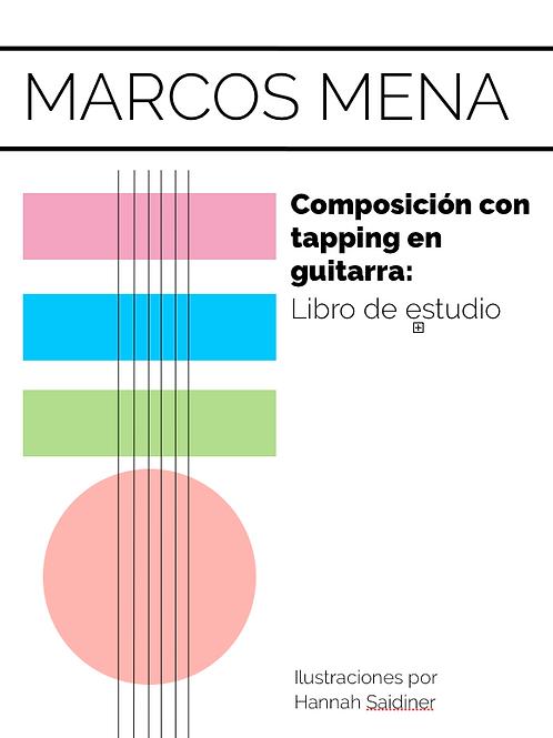 Composición con tapping en guitarra