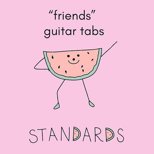 standards - friends tab pack