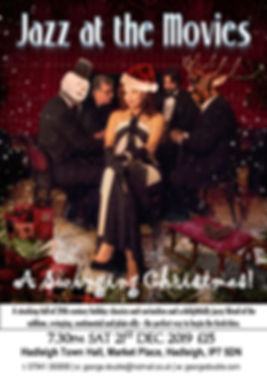 Swinging Christmas Poster HADLEIGH 2019-