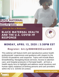 Black Maternal Health anf the U.S COVID 19 Response