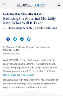 Reducing the Maternal Mortality Rate: What Will It Take?