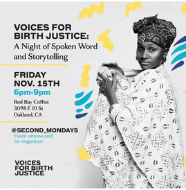 Voices For Birth Justice Event in Oakland