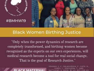 Black Maternal Health Week 2019 Webinar Replay!
