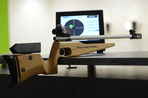 Feinwerkbau Simulator rifle Set wood