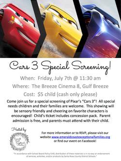 cars 3 flyer