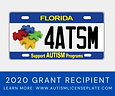 Autism License Plate Social Media Graphi