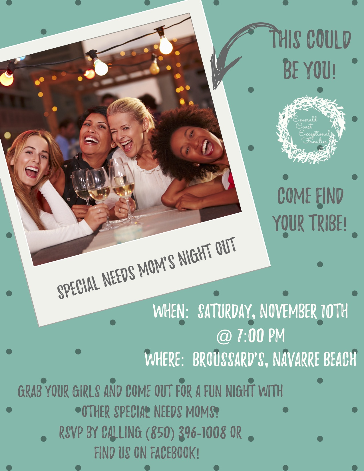 Special Needs Moms Night Out