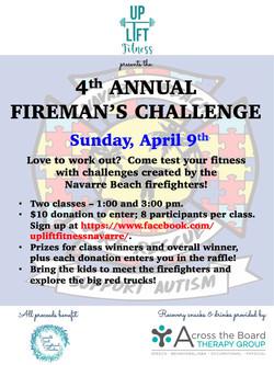 Uplift firemans challenge 2017