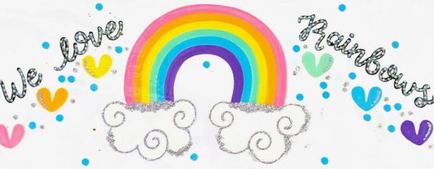 Design: We Love Rainbows