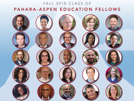 Pahara and Aspen Institutes Announce New Class of Leaders for Pahara-Aspen Education Fellowship