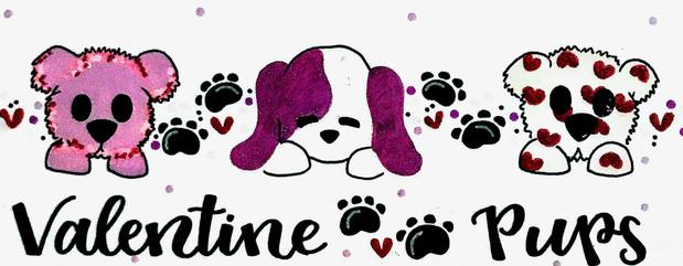 Design: Valentine Pups