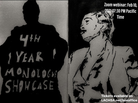 Virtual Performance: 4th Year Monologue Show 2/10