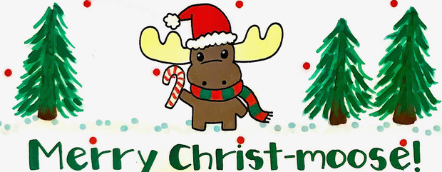 Design: Merry Christ-moose