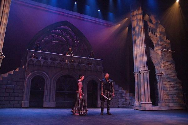 Shakespearience actors perform Macbeth