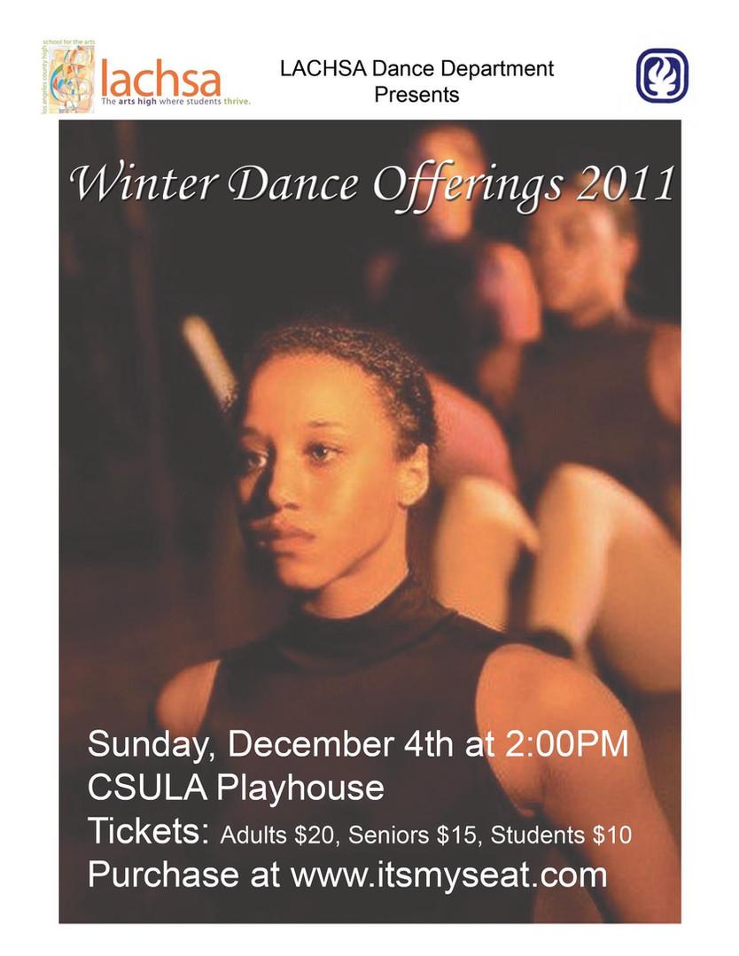 Winter Dance Offerings