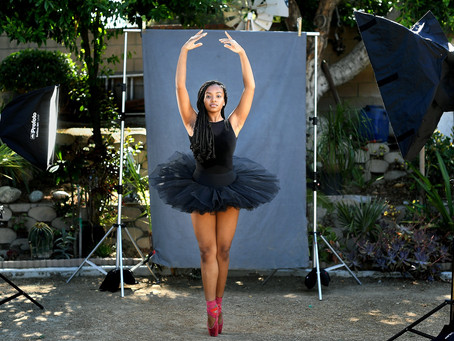 LA Times featuring LACHSA Dance Students