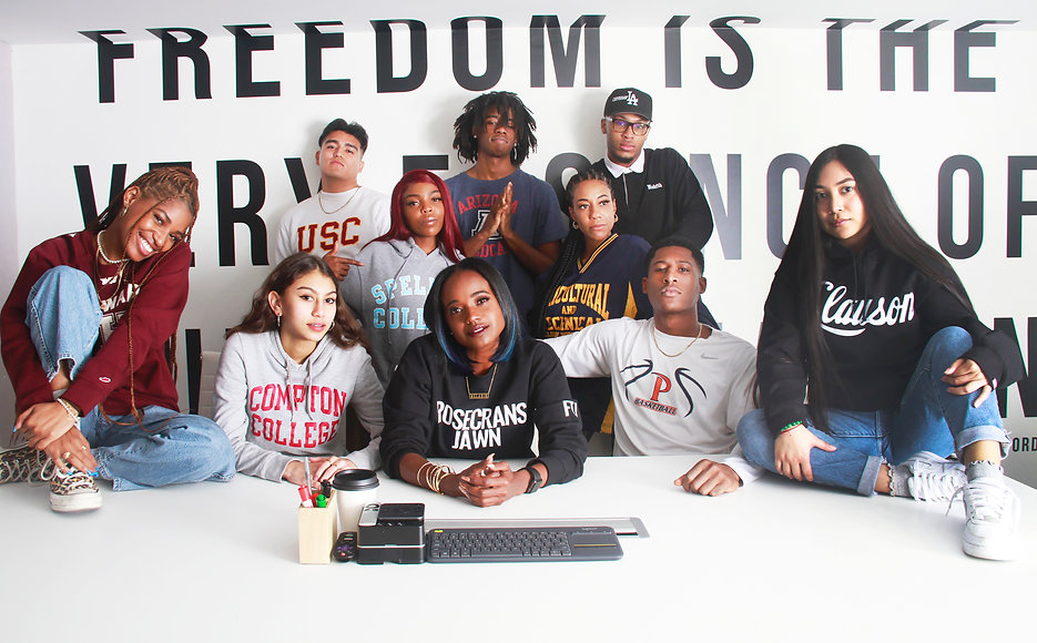 Group of Diverse Students at Rosecrans Ventures