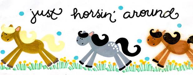 Design: Just Horsin' Around