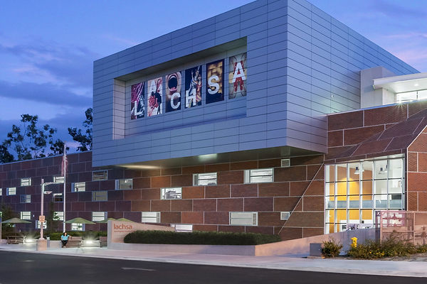 The LACHSA building at CSULA