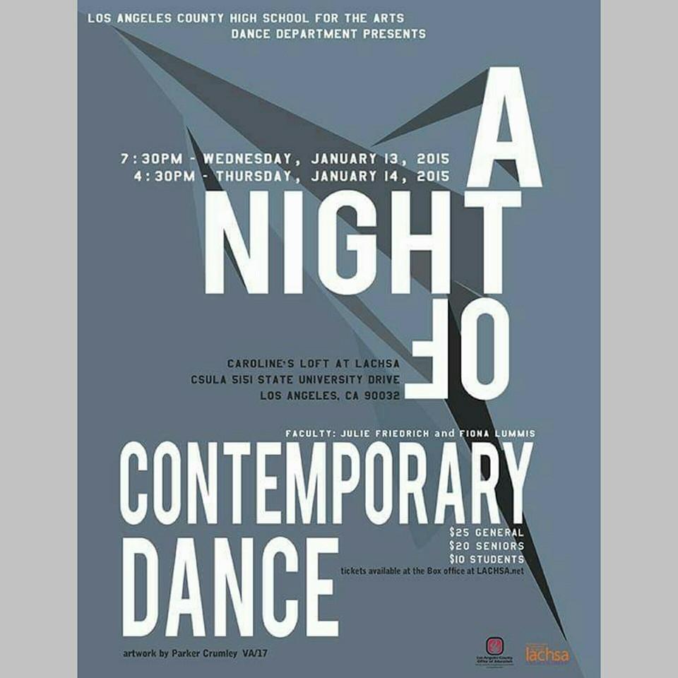 Contepmorary Dance Concert