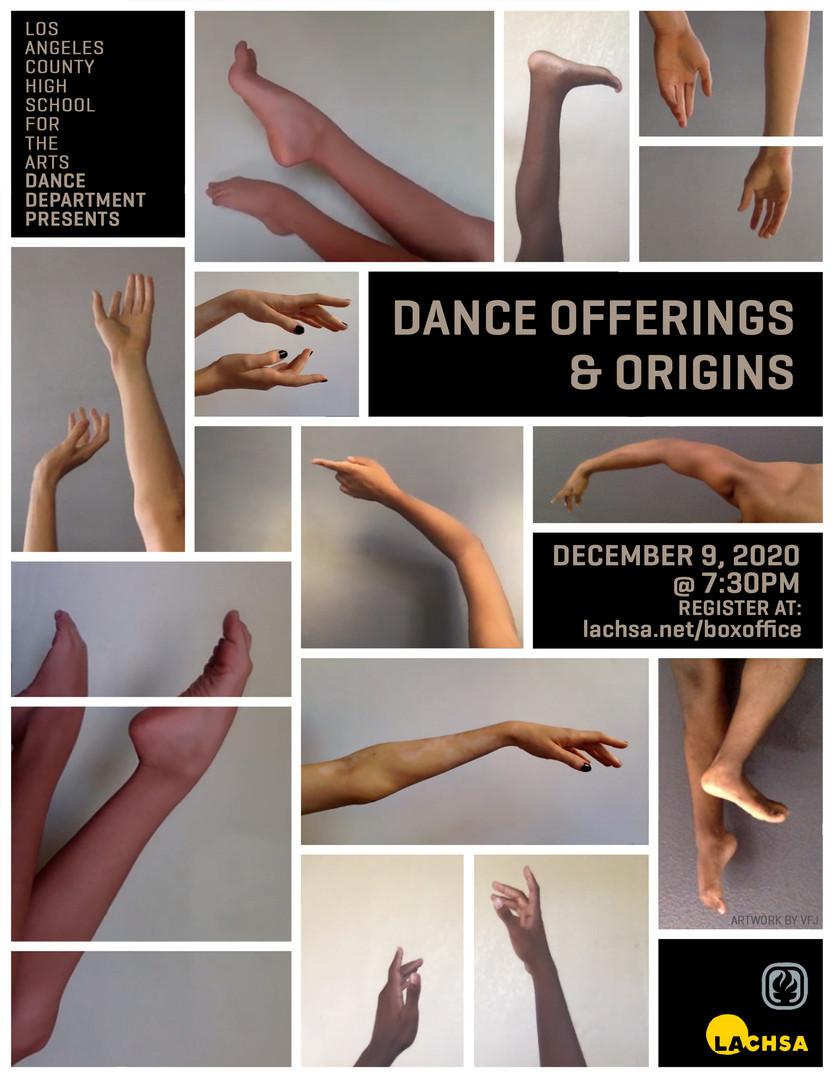 Dance Offerings & Origins Show