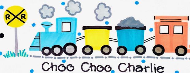 Design: Choo Choo Charlie