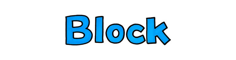 This is a sample of BLOCK