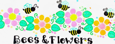 Design: Bees & Flowers