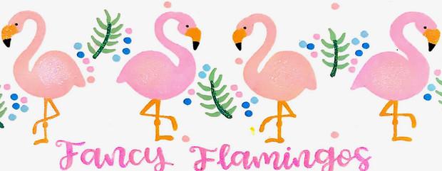 Design: Fancy Flamingos