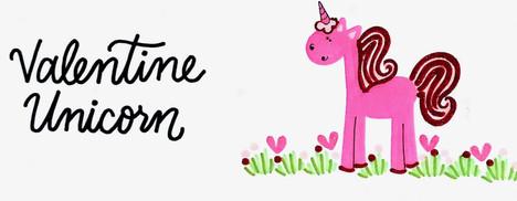 Design: Valentine Unicorn