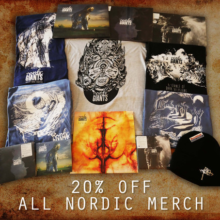 20% Off ALL Nordic Merchandise for one month!