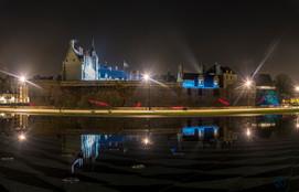 Chateau des ducs de Bretagne de nuit - Nantes