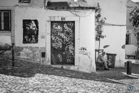 Scène de rue - Lisbonne