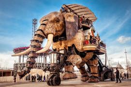 Éléphant des machines de l'île - Nantes