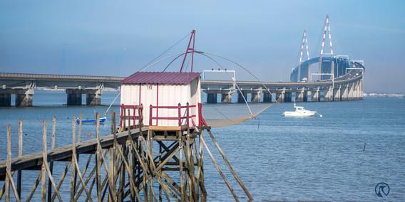 Pêcherie - Pont de Saint Nazaire