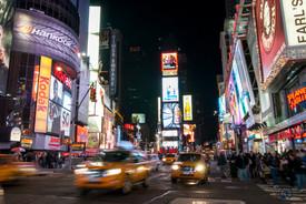 Times Square de nuit - New York