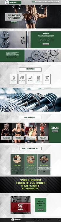 Cardio Gym (Women's Only gym)