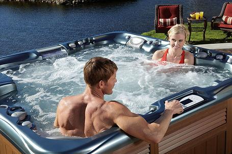 Outdoo spa in Montana, hot tub