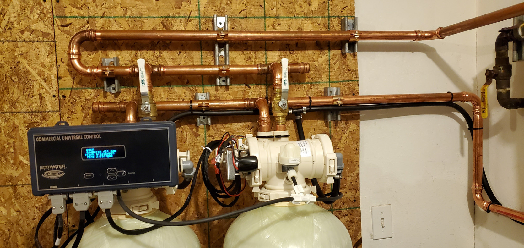 Alaska EcoWater Installation Commercial Business water treatment