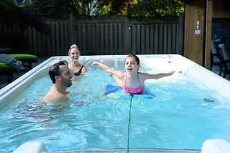 HydroPool AquaTrainer 14AX Swim Spa