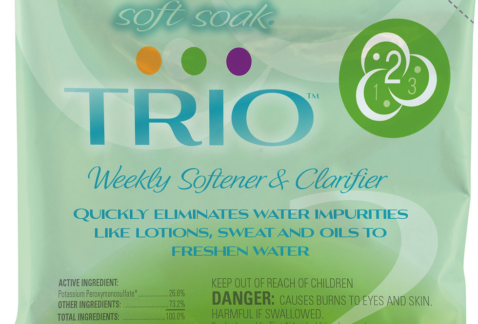 Soft Soak® TRIO® Weekly Softener & Clarifier