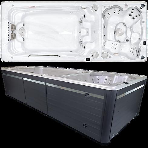 HydroPool AquaTrainer 19 DTAX with Separate Hot Tub