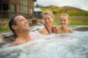 family hot tub in montana
