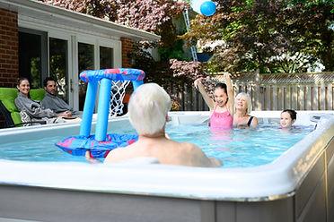 HydroPool AquaTrainer 19DTAX Swim Spa