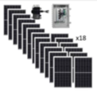 5.85kw Solar Kit Renewable Energy Systems of Alaska Most Popular Grid-Tie Solar