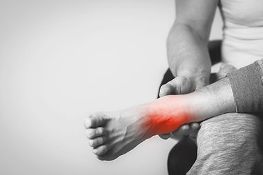 tendonitis and inflammaton in foor and ankle