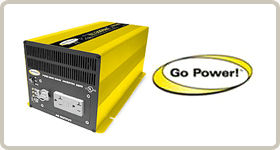 go power, inverter, chargers, electric, battery charger