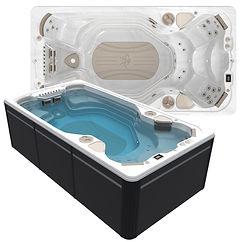 HydroPool AquaSport 14AX Swim Spa